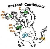 dragon-present-continuous
